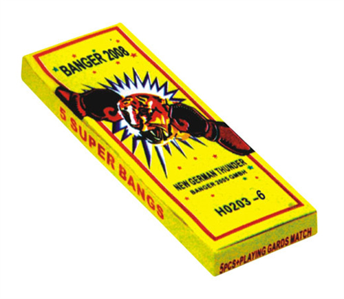 3 # Match Crackers (6bangs)