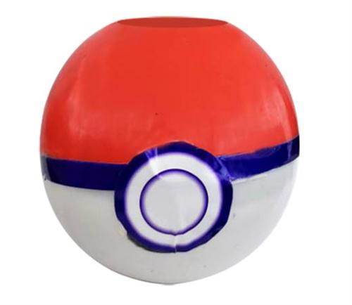 Bola roja blanca y azul