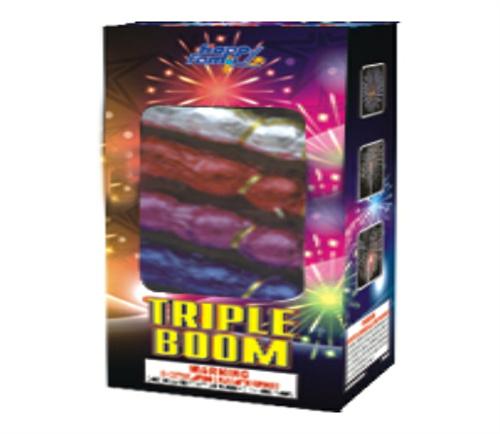 Triple boom