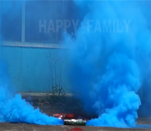 Humo azul bidireccional
