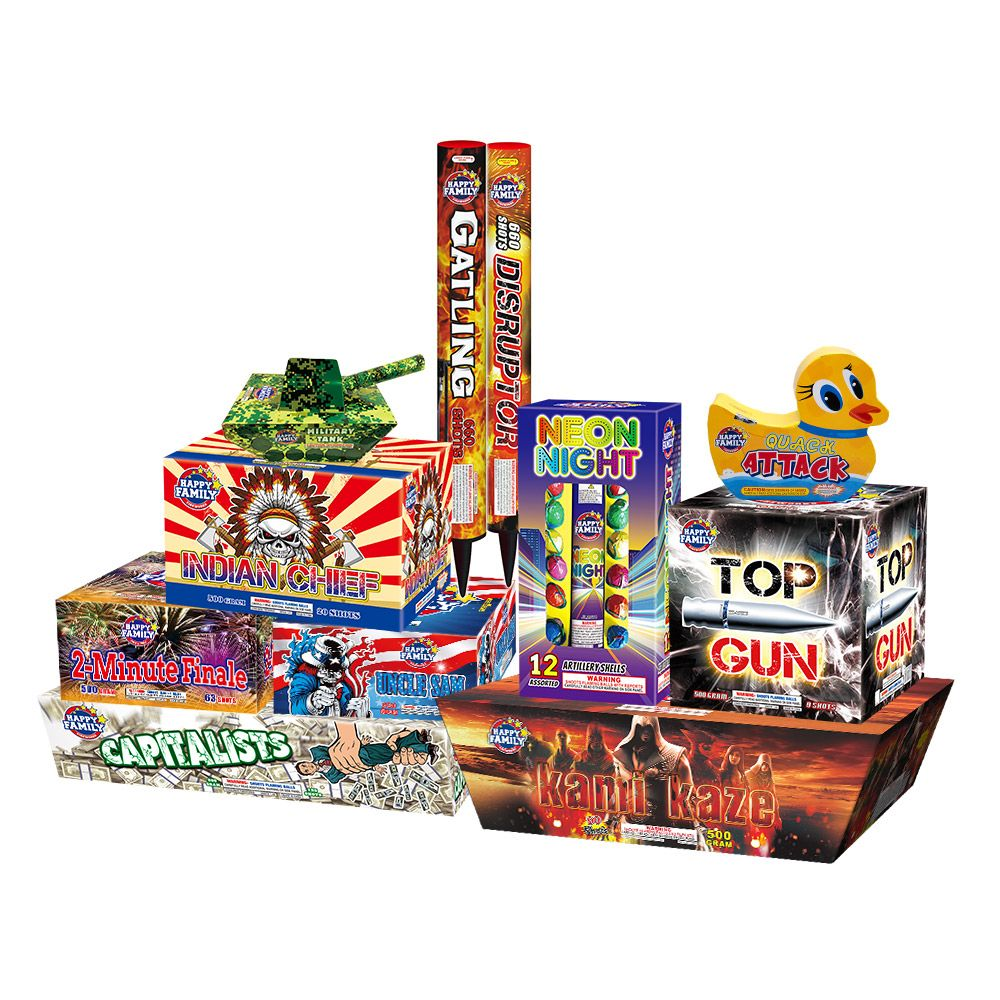Happy Family Fireworks TOP10