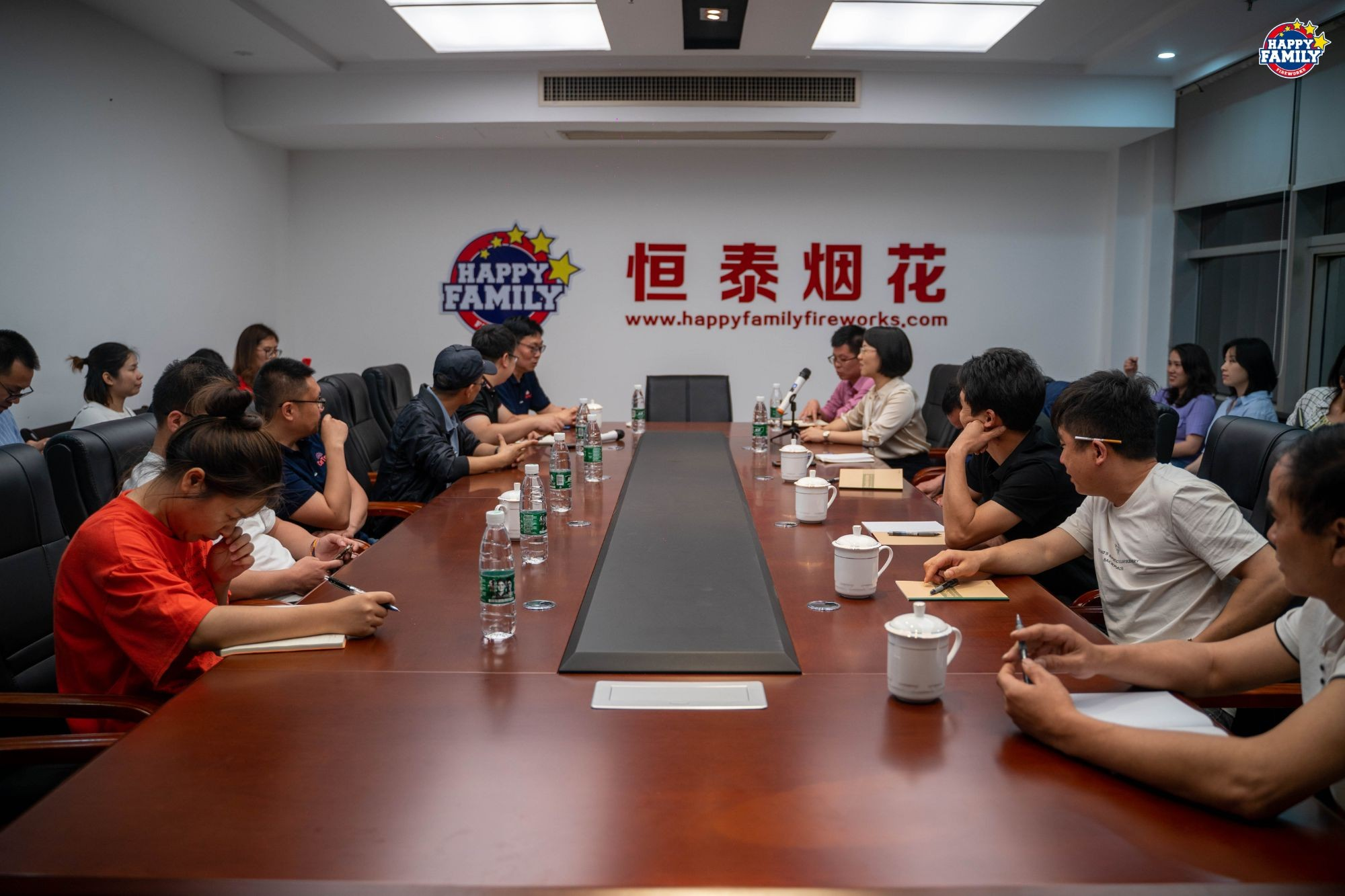 Happy Family Fireworks Factory carried out CE regulations training records on May 11, 2021
