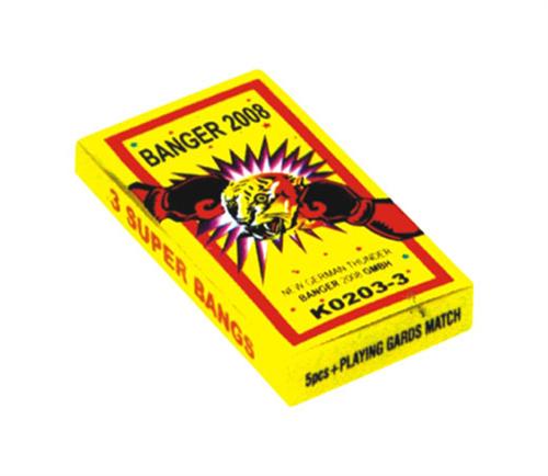 K0203-3 3 # Galletas de fósforo (3 explosiones) 2