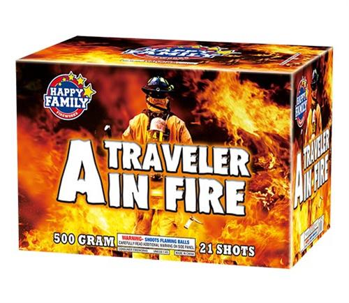 Un viajero en llamas