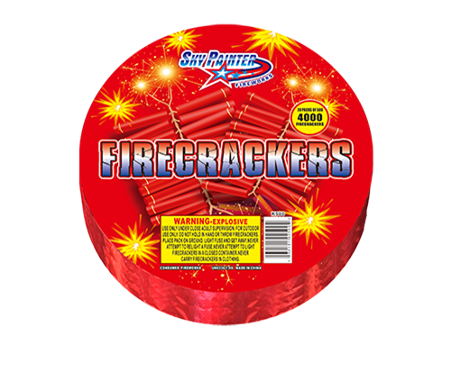 500 STRIP FIRECRACKERS 1.4G fireworks July 4th birthday  party SKY PAINTER