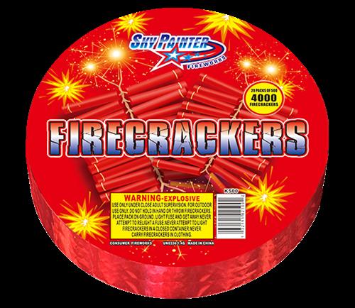 500 STRIP FIRECRACKERS1.4G花火4月XNUMX日誕生日パーティーSKYPAINTER