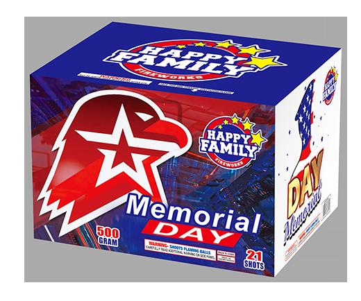 FELIZ FAMILIA FUEGOS ARTIFICIALES 500GRAM JL522034 DÍA CONMEMORATIVO 21 disparos PASTEL FUEGOS ARTIFICIALES