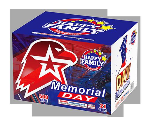 HAPPY FAMILY FIREWORKS 500GRAM JL522034 MEMORIAL DAY21ショットケーキ花火