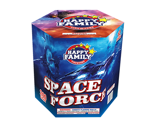 HAPPY FAMILY FIREWORKS 200GRAM JL222004 SPACE FORCE12ショットケーキ花火